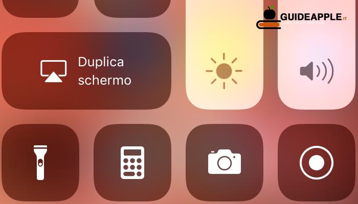 Come registrare schermo iPhone e iPad