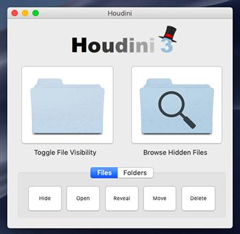Come visualizzare file nascosti Mac tramite Houdini
