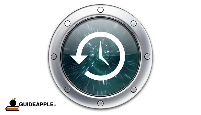 Time Machine backup (come effettuare il backup del Mac)