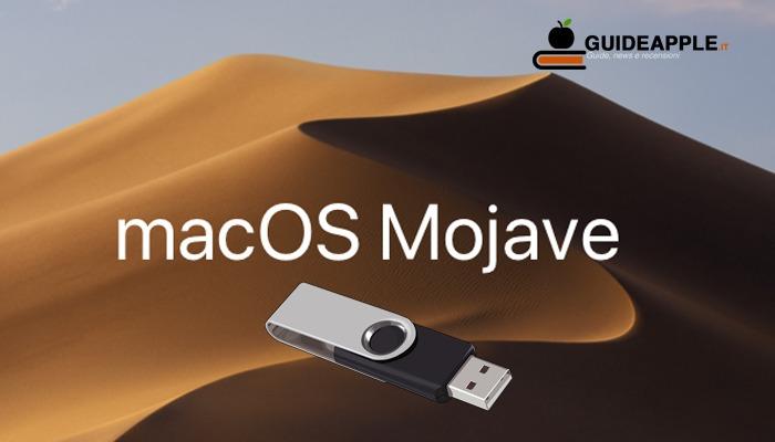 Come creare chiavetta USB avviabile Mac di Mojave