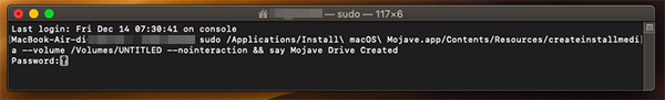 creare chiavetta USB bootabile su Mac