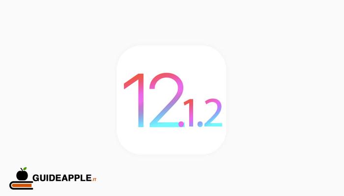 Apple rilascia iOS 12.1.2 per iPhone