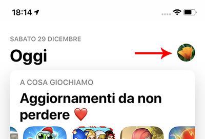 nascondere app su app store