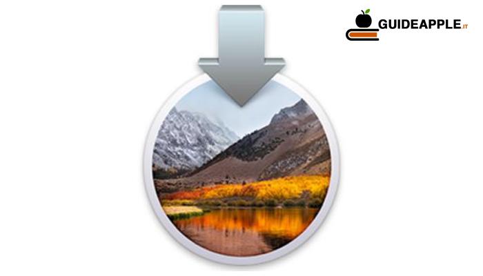 Come scaricare macOS High Sierra da macOS Mojave