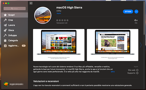 scaricare macos