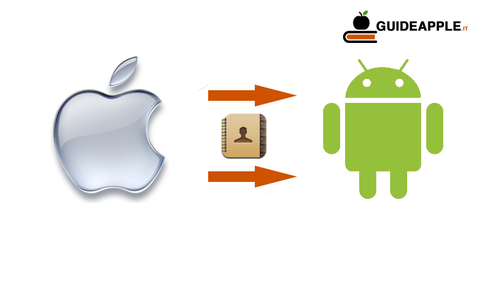Come trasferire contatti da iPhone a Android