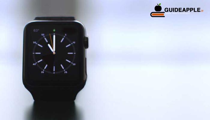Uscita forzata app Apple Watch