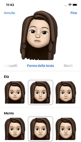 come creare Memoji su iPhone (2)
