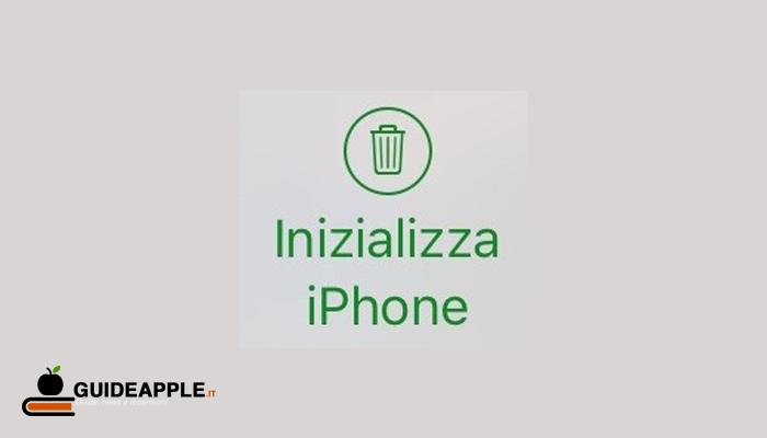 Come inizializzare iPhone da remoto e cancellare tutti i dati in caso di smarrimento o furto