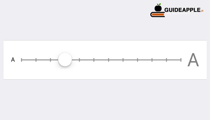 Come ingrandire testo iPhone e iPad