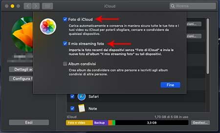 Come vedere foto su iCloud da Mac
