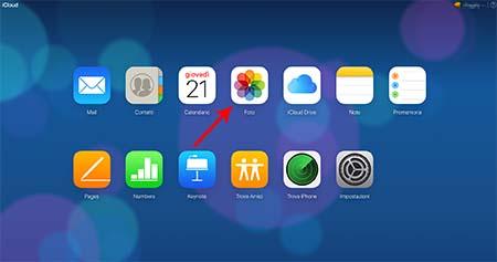 Come vedere foto su iCloud dal browser web