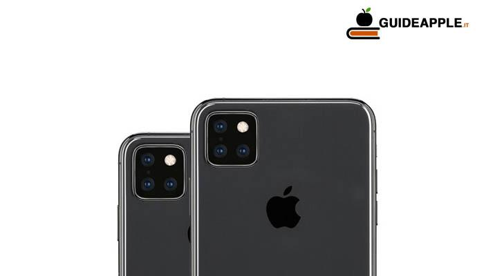 iPhone 11 con tripla fotocamera