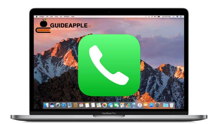 Come telefonare dal Mac