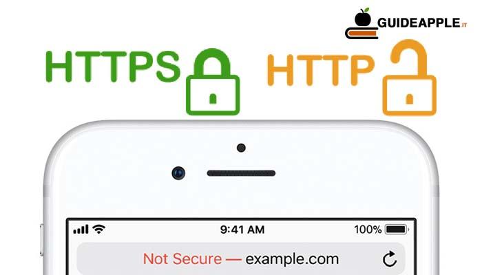 Safari sito non sicuro: ecco cosa significa