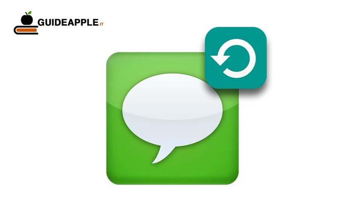 Come eseguire il backup messaggi iPhone