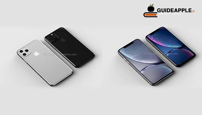 iPhone XI e iPhone XI Max, più spessi e con un interruttore per il silenzioso ridisegnato