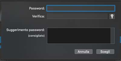 proteggere utità usb con password tramite utility disco