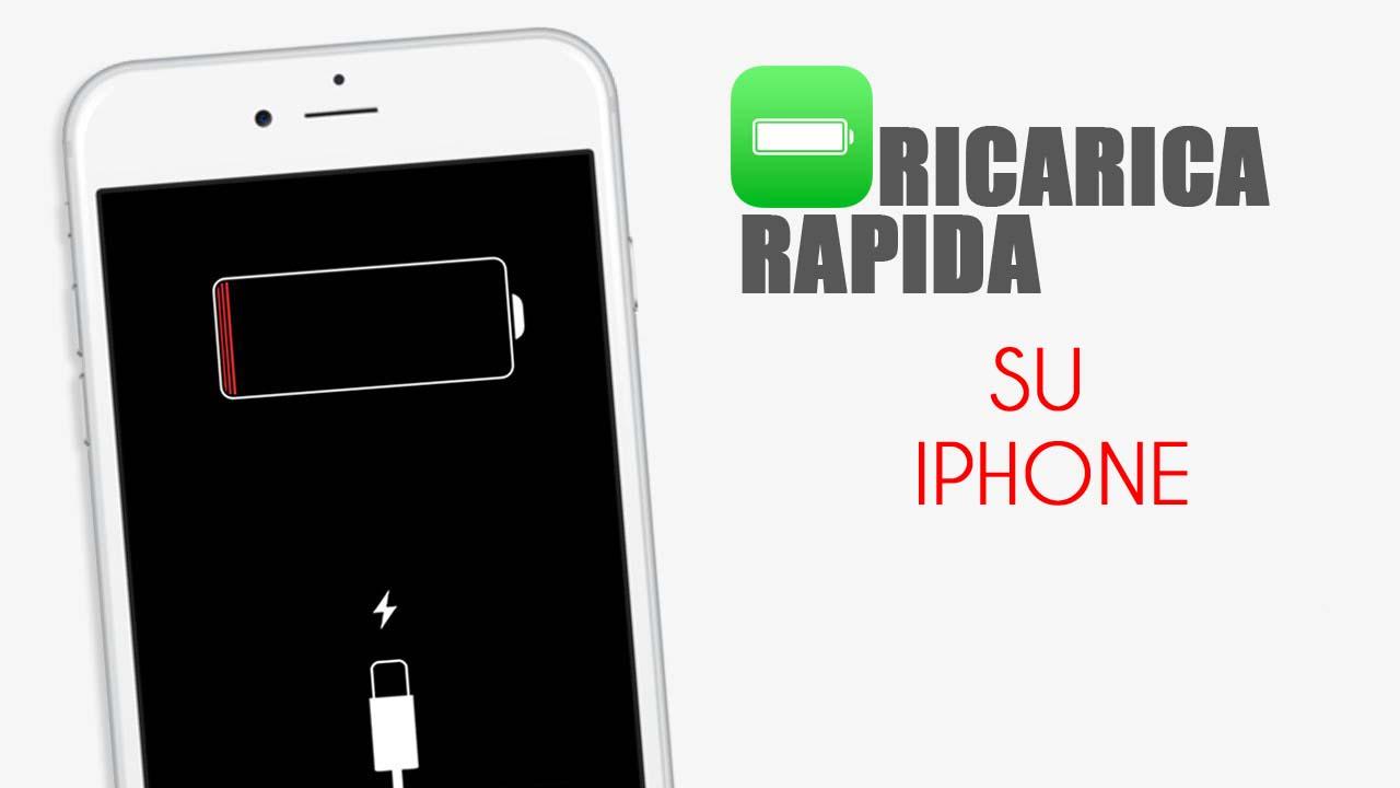 Ricarica rapida iPhone: ecco tutto quello che devi sapere