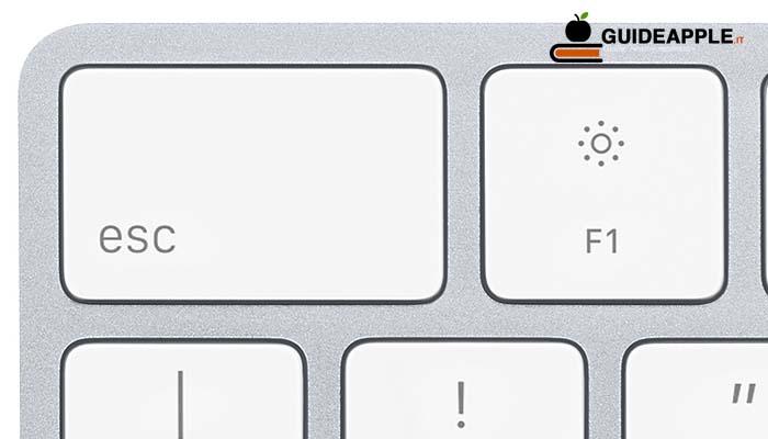 Come digitare il tasto ESC sulla tastiera dell'iPad