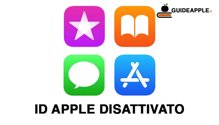 ID Apple disattivato: ecco come risolvere