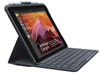 Logitech Slim Folio cover con tastiera per iPad da 9.7
