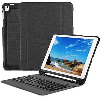 OMOTON Cover con tastiera per iPad