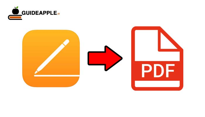 Come convertire un file Pages in PDF