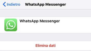 eliminare backup whatsapp per liberare spazio