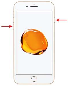 eseguire riavvio forzato iphone 7