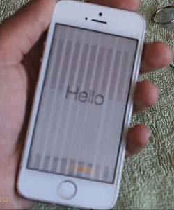 linee sullo schermo iPhone