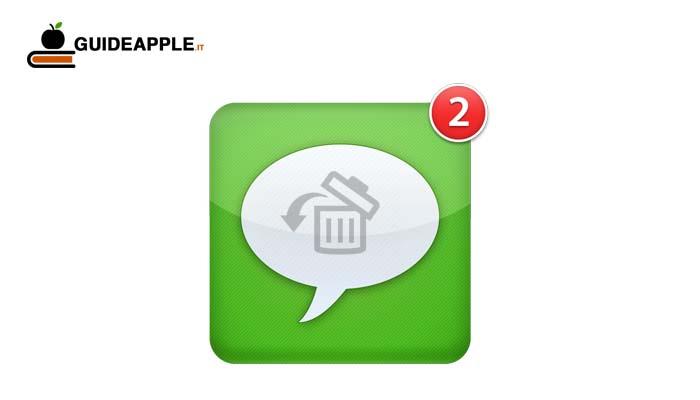 Come recuperare messaggi cancellati su iPhone