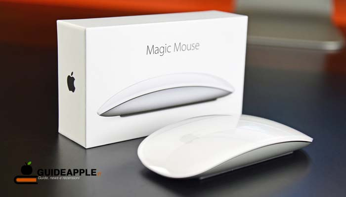 Come rinominare Magic Mouse su Mac