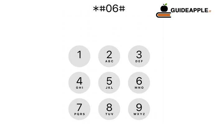 Come trovare codice IMEI iPhone