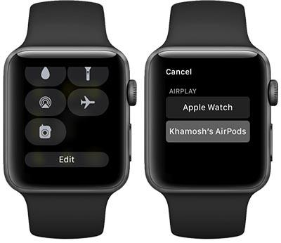abbinare airpods apple watch