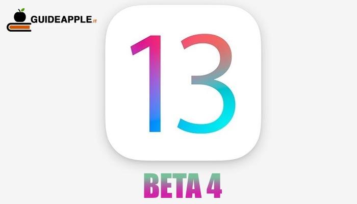 Ecco le novità di iOS 13 beta 4