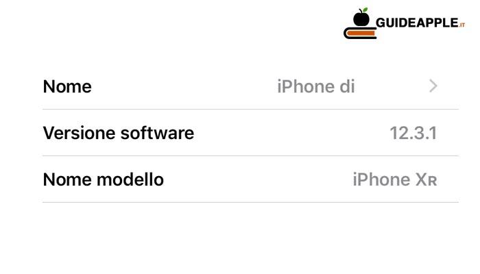 Come trovare la versione di iOS installata su iPhone e iPad