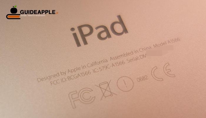 Come trovare numero di serie iPad