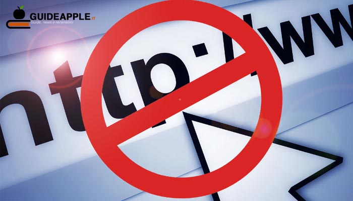 Come bloccare siti indesiderati su Mac