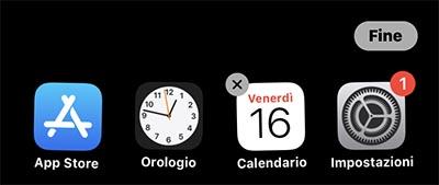 Come eliminare app da iPhone e iPad
