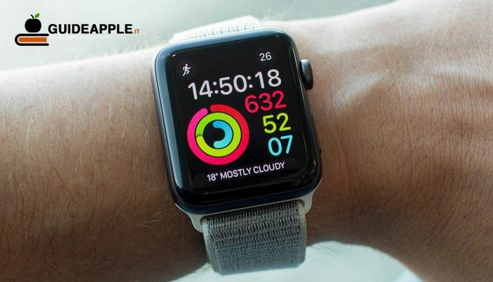 Screenshot Apple Watch: ecco come farli