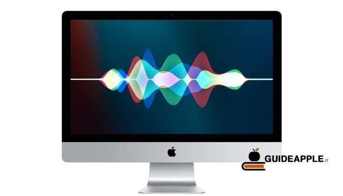 Come disattivare Ehi Siri su Mac