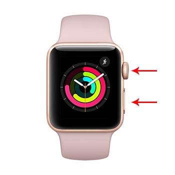 come effettuare screenshot apple watch
