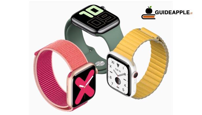 Presentato il nuovo Apple Watch Series 5