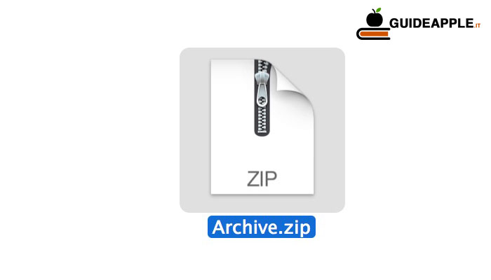 Come decomprimere un file su Mac