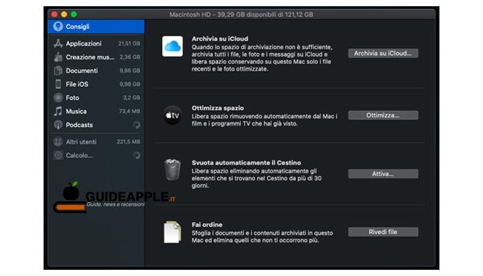 Programmi per eliminare file dal Mac