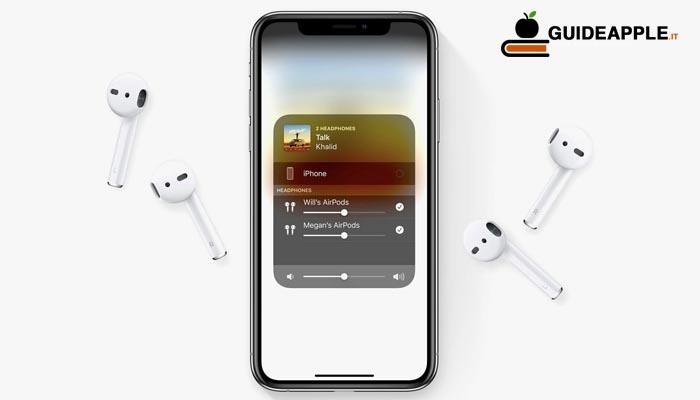 Come condividere l'audio su iOS 13