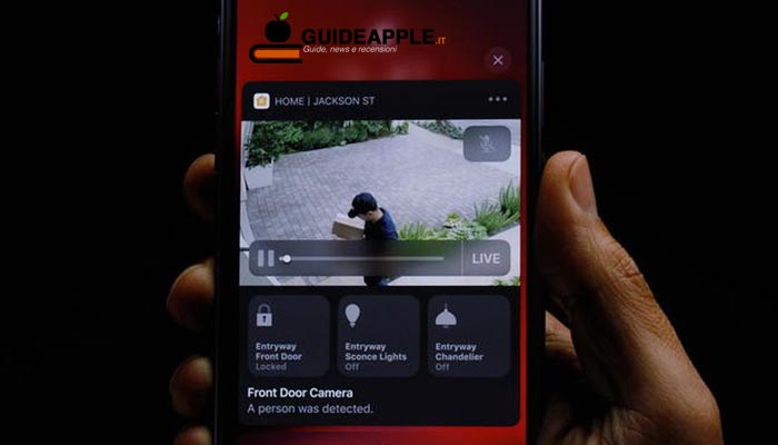 Spuntano le prime immagini di HomeKit Secure Video