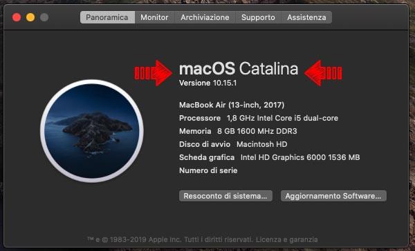 Come vedere quale versione di macOS è installata sul Mac