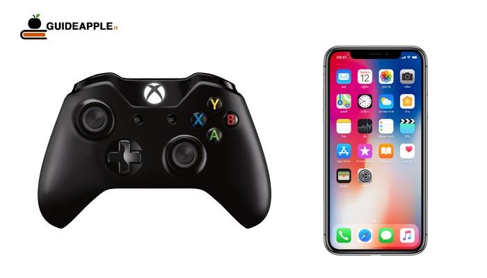Come collegare controller Xbox One a iPhone e iPad